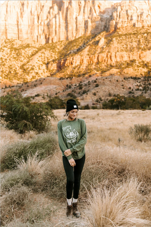 Cabin Long Sleeve 2400 Lands Military Green S