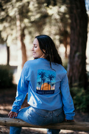 Cali Sunset Long Sleeve (Back Print) 2400 Lands Carolina S