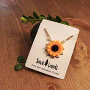 Sunflower Pendant Jewelry Lands