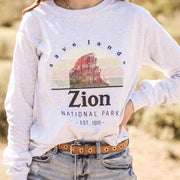Zion National Park Long Sleeve 2400 Lands