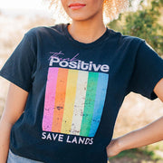 Think Positive Tee 5000 Lands