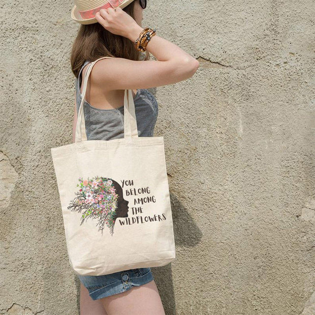 Wildflowers Tote Bag Q600 Lands