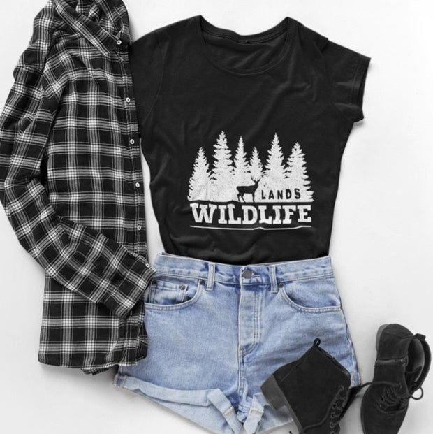 Wildlife Tee T-Shirt Printify