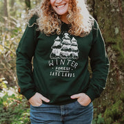 Winter Forest Crewneck Sweatshirt Sweatshirt Lands