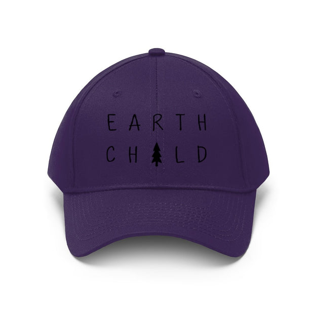 Earth Child Hat Hats Printify Purple One size