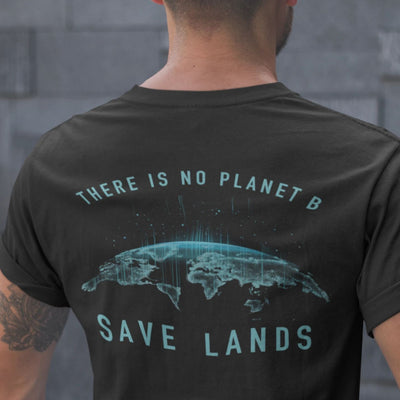 Men's No Planet B Tee T-Shirt Printify