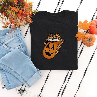 Rockin' Jack-O'-Lantern Long Sleeve 2400 Lands Black S