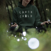 Earth Child Hoodie Hoodie Lands Forest Green S