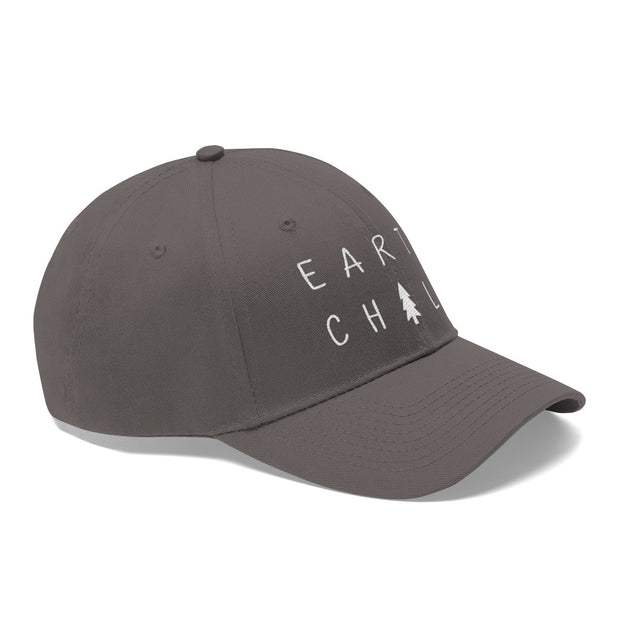 Earth Child Hat (White Text) Hats Printify