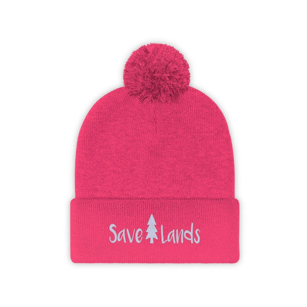 Save Lands Beanie Hats Printify