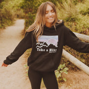 Take a Hike Black Hoodie 18500 Lands S Black