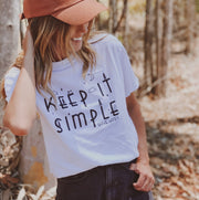 Keep it Simple Tee 5000 Lands S