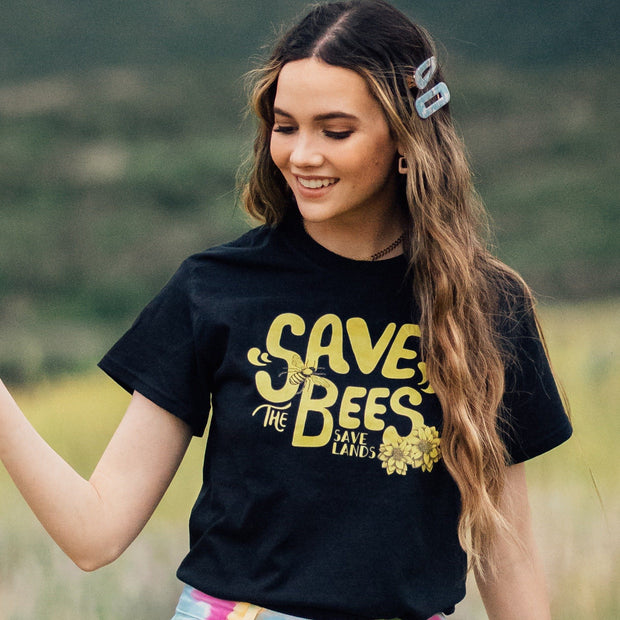 70's Save the Bees Tee 5000 Lands