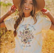 Nature Makes Me Happy Dandelion Tee 1000 SPIDER DANDELION Lands S