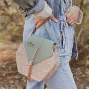 Mint Rattan Purse RATTAN PURSE Lands