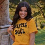 Hippie Soul Tee 5000 Lands Gold S