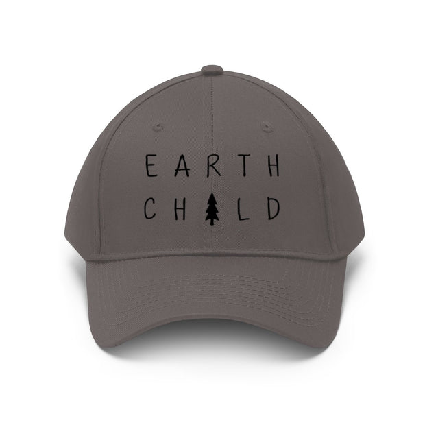 Earth Child Hat Hats Printify Charcoal One size