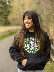 I Love Nature & Coffee Hoodie 18500 Lands
