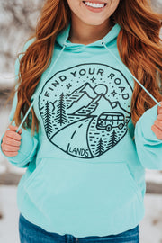 Lands Find Your Road Hoodie 18500 Lands