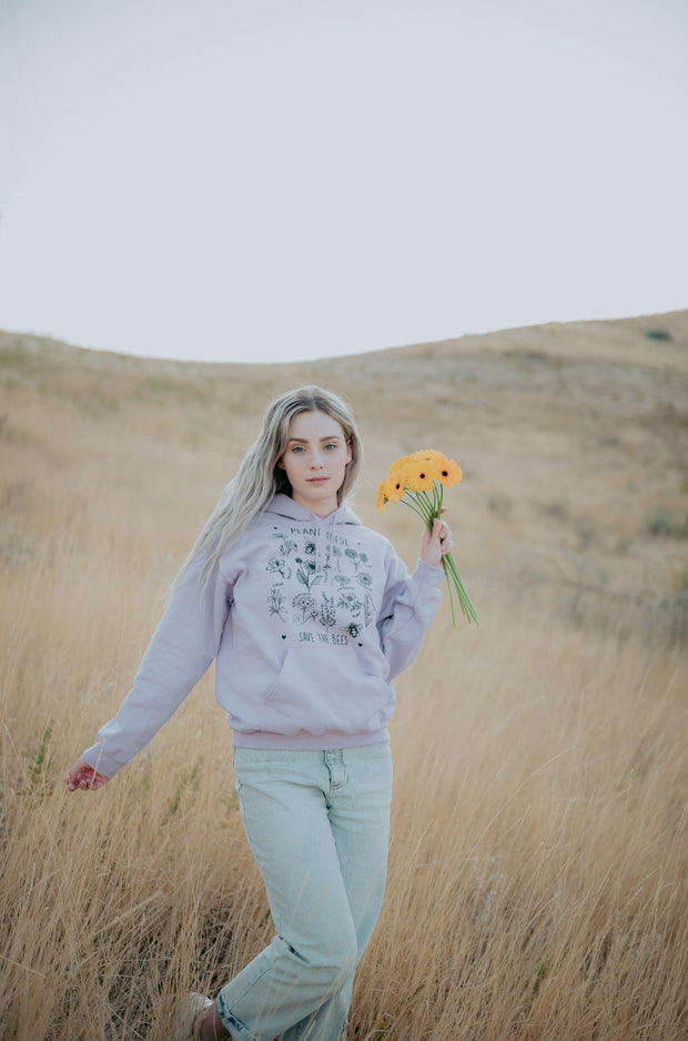 Plant These Hoodie 18500 Lands Orchid S