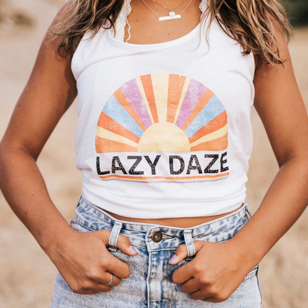 Lazy Daze Racerback Tank 1533 Lands