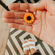Sunflower Necklace Jewelry Lands