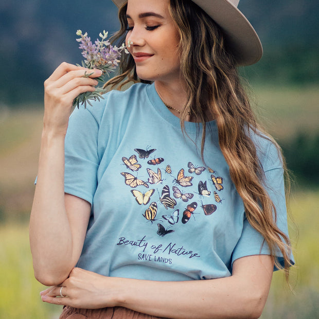 Beauty of Nature Butterfly Tee 5000 Lands