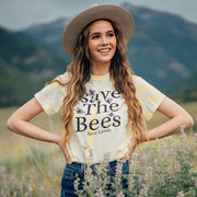 Save The Bees Classic Dandelion Tie Dye Tee 1000 SPIDER DANDELION Lands