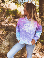 Stay Wild Cotton Candy Tie Dye Hoodie 8777 - COTTON CANDY Lands