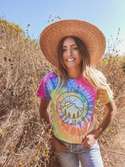 Watercolor Coin Eternity Tie Dye Tee 1000 - ETERNITY Lands