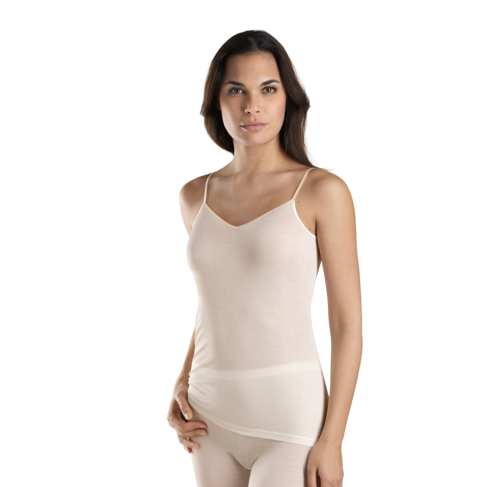 HANRO V-Top - PURE SILK
