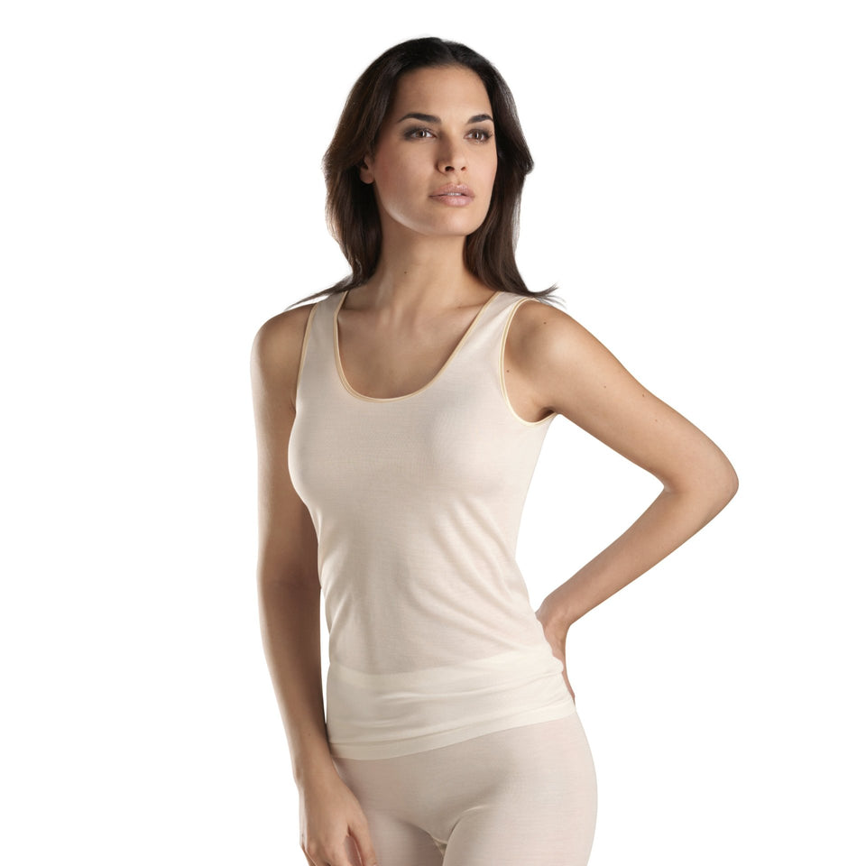 HANRO Tank Top - PURE SILK