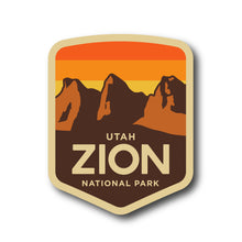 Load image into Gallery viewer, Zion National Park Sticker Pack National Park Vinyl Sticker