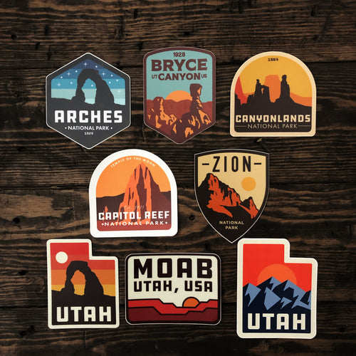 Ultimate Utah Sticker Pack