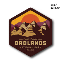 Load image into Gallery viewer, Badlands National Park Sticker