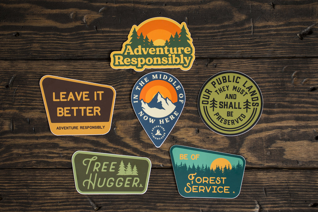 Stewardship Sticker Pack