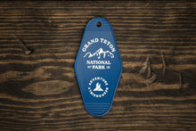 Load image into Gallery viewer, Grand Teton National Park Retro Hotel Key Tag