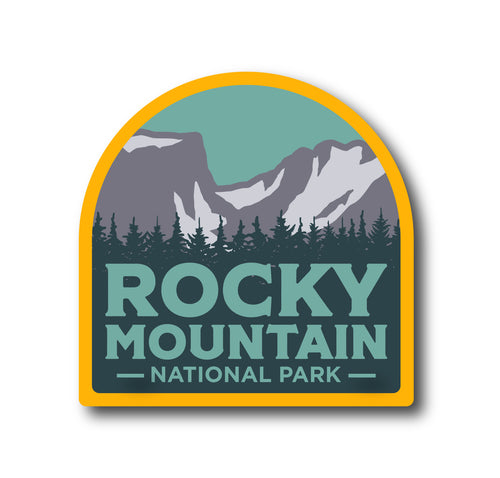 Rocky Mountain National Park Dream Lake Sticker