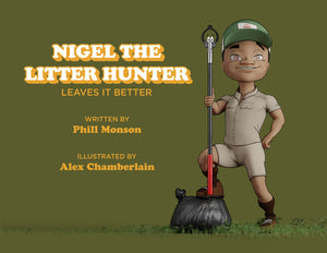 Nigel the Litter Hunter - eBook