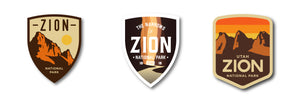 Zion National Park Sticker Pack National Park Vinyl Sticker