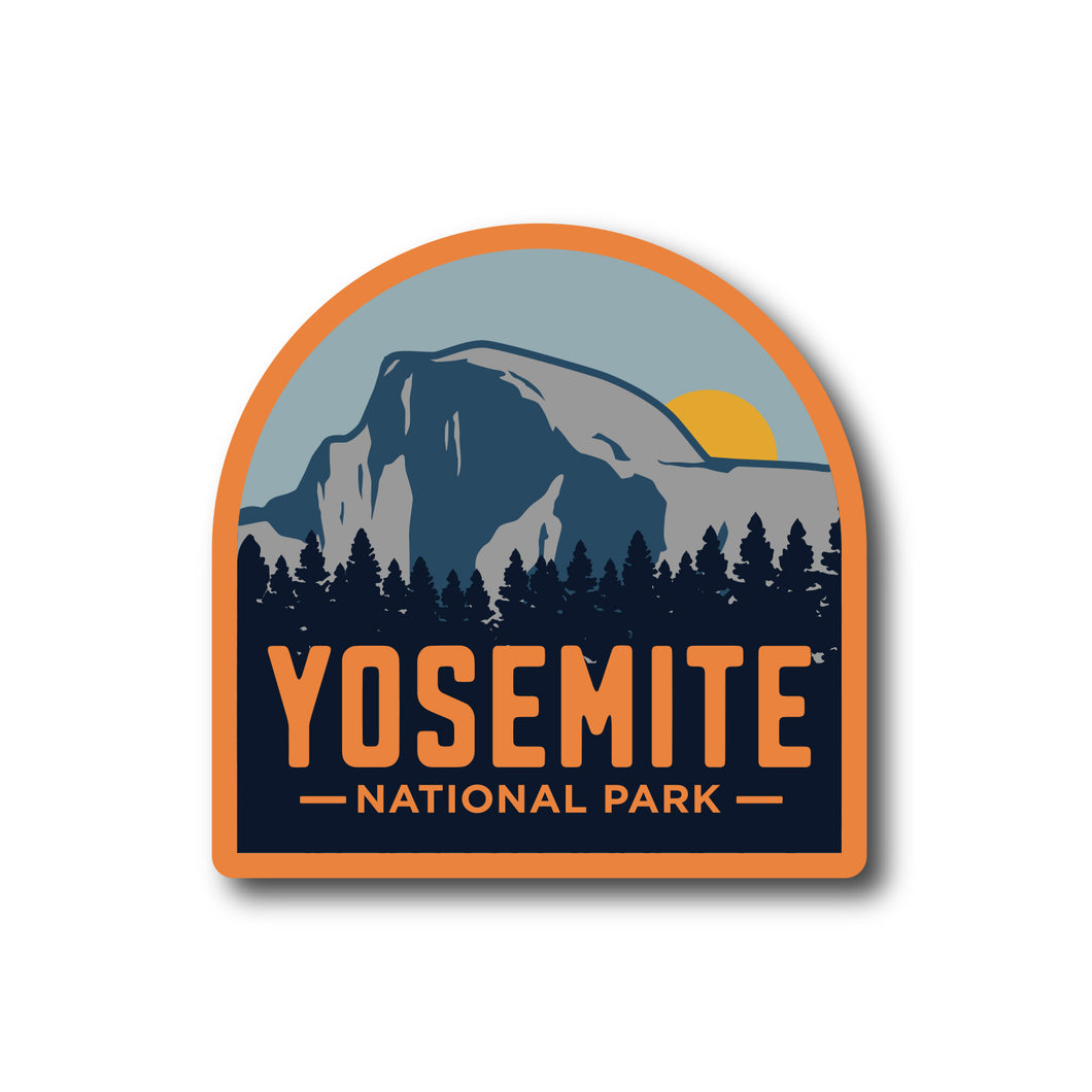 Yosemite National Park California Vinyl Sticker