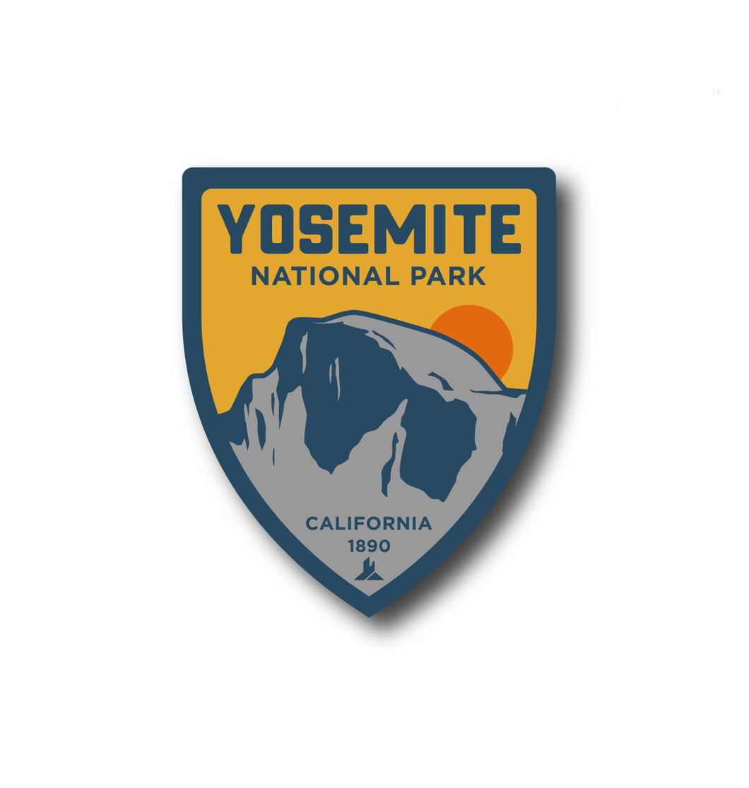 Yosemite Half Dome | National Park Sticker