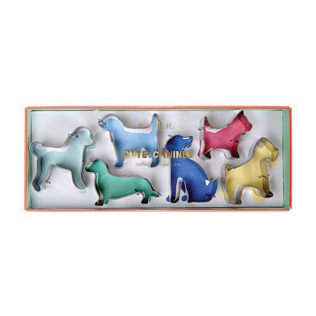 Canine Cookie Cutters, Set of 6