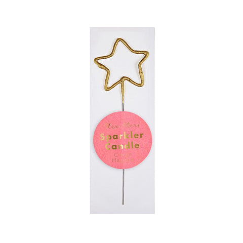 Mini Gold Sparkler Candles