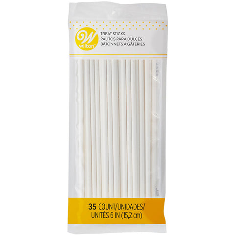 6 Inch Lollipop Sticks, 35 Count