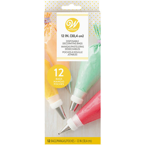 Wilton Disposable Decorating Bags, 12 Pack