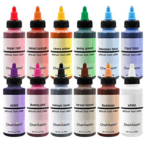 Chefmaster Airbrush Food Colour, 2oz