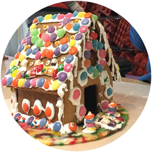 Gingerbread House Decorating with Kids