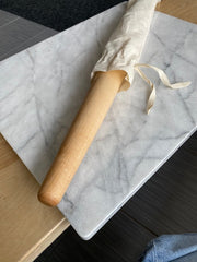 Tapered rolling pin, french, for pastry, baking, pasta