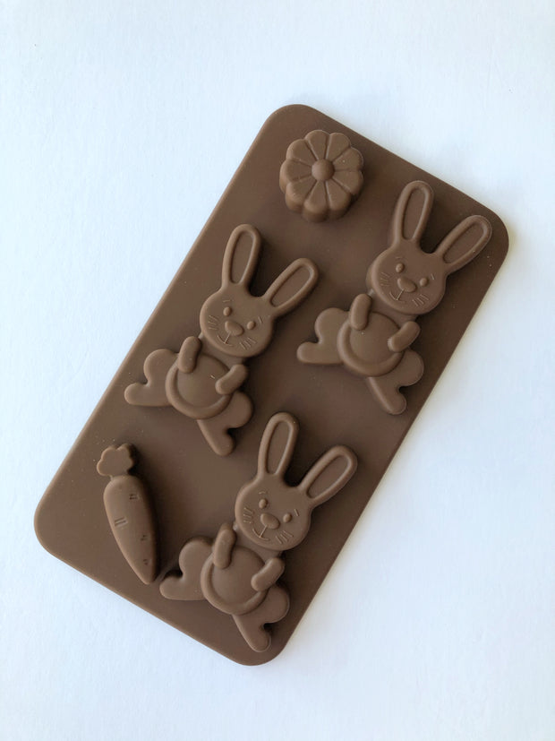 Easter Bunny Silicone Chocolate Mould